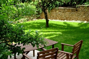 American Rest Home Κήπος